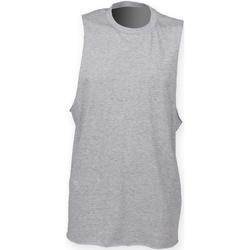 Abbigliamento Uomo Top / T-shirt senza maniche Skinni Fit SF232 Erica grigia