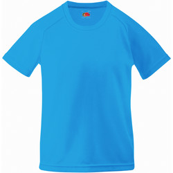 Abbigliamento Unisex bambino T-shirt maniche corte Fruit Of The Loom 61013 Azzurro