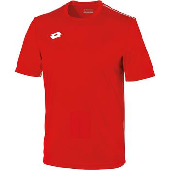 Abbigliamento Unisex bambino T-shirt maniche corte Lotto LT26B Rosso/Bianco