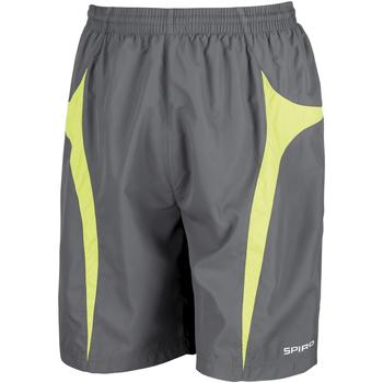 Abbigliamento Uomo Shorts / Bermuda Spiro S184X Grigio/Verde lime
