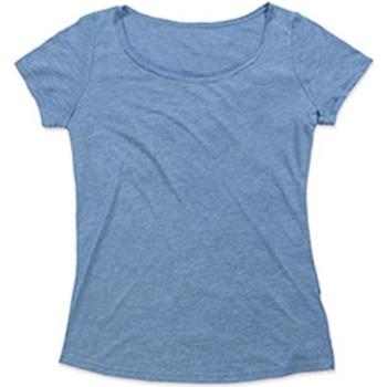 Abbigliamento Donna T-shirt maniche corte Stedman Stars  Azzurro vintage
