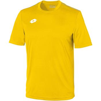 Abbigliamento Unisex bambino T-shirt maniche corte Lotto LT26B Giallo/Bianco