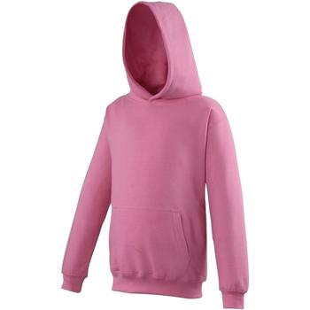 Abbigliamento Unisex bambino Felpe Awdis JH01J Rosa