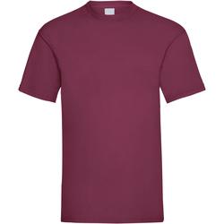 Abbigliamento Uomo T-shirt maniche corte Universal Textiles 61036 Rosso sangue