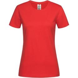Abbigliamento Donna T-shirt maniche corte Stedman  Rosso acceso