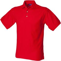 Abbigliamento Uomo Polo maniche corte Henbury HB410 Rosso