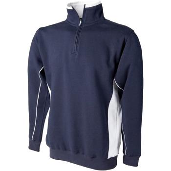 Abbigliamento Uomo Felpe Finden & Hales LV338 Blu navy/Bianco
