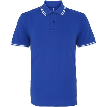 Abbigliamento Uomo Polo maniche corte Asquith & Fox AQ011 Blu Reale/Bianco