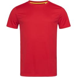 Abbigliamento Uomo T-shirt maniche corte Stedman Mesh Rosso