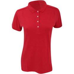 Abbigliamento Donna Polo maniche corte Russell 566F Rosso