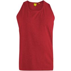 Abbigliamento Uomo Top / T-shirt senza maniche Duke  Rosso