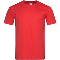 Abbigliamento Uomo T-shirt maniche corte Stedman  Rosso scarlatto