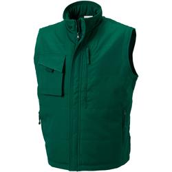 Abbigliamento Uomo Gilet / Cardigan Russell 014M Verde bottiglia
