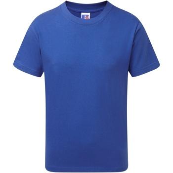 Abbigliamento Bambino T-shirt maniche corte Jerzees Schoolgear J155B Blu reale acceso
