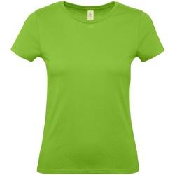 Abbigliamento Donna T-shirt maniche corte B And C E150 Verde acceso