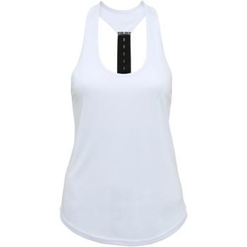 Abbigliamento Donna Top / T-shirt senza maniche Tridri TR027 Bianco
