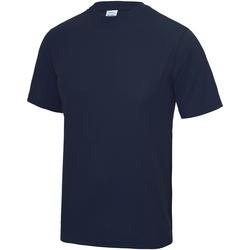 Abbigliamento Unisex bambino T-shirt maniche corte Awdis JC01J Oxford Navy