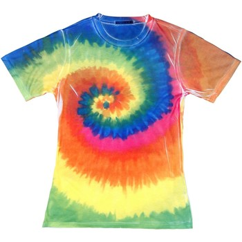 Abbigliamento Donna T-shirt maniche corte Colortone TD21M Arcobaleno