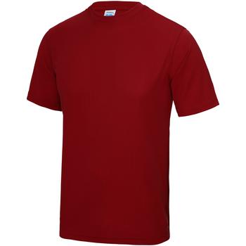 Abbigliamento Unisex bambino T-shirt maniche corte Awdis JC01J Rosso fuoco