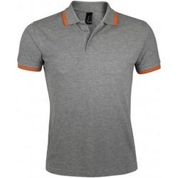 Abbigliamento Uomo Polo maniche corte Sols Pasadena Grigio/Arancione
