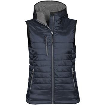 Abbigliamento Donna Piumini Stormtech PFV-2W Blu/Carbone