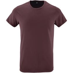 Abbigliamento Uomo T-shirt maniche corte Sols 10553 Rosso scuro