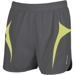 Abbigliamento Uomo Shorts / Bermuda Spiro S183X Grigio/Verde lime