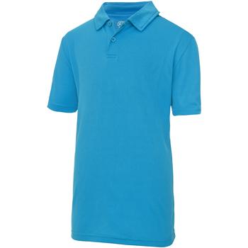 Abbigliamento Unisex bambino Polo maniche corte Awdis JC40J Zaffiro