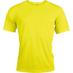 Abbigliamento Uomo T-shirt maniche corte Kariban Proact PA438 Giallo fluorescente