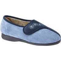 Scarpe Donna Pantofole Sleepers  Blu navy/Blu