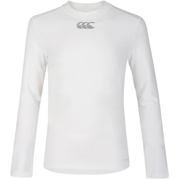Abbigliamento Unisex bambino T-shirts a maniche lunghe Canterbury CN360B Bianco