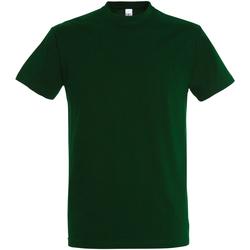 Abbigliamento Uomo T-shirt maniche corte Sols 11500 Verde bottiglia