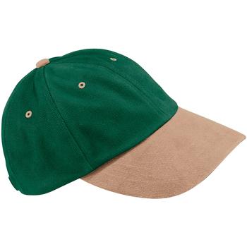 Accessori Cappellini Beechfield B57 Verde foresta/Talpa