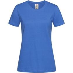 Abbigliamento Donna T-shirt maniche corte Stedman  Blu brillante