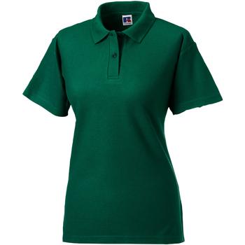Abbigliamento Donna Polo maniche corte Jerzees Colours 539F Verde bottiglia