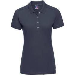 Abbigliamento Donna Polo maniche corte Russell 566F Blu navy