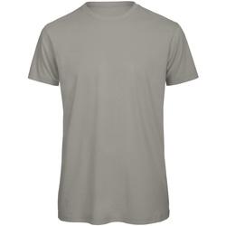 Abbigliamento Uomo T-shirt maniche corte B And C TM042 Grigio chiaro