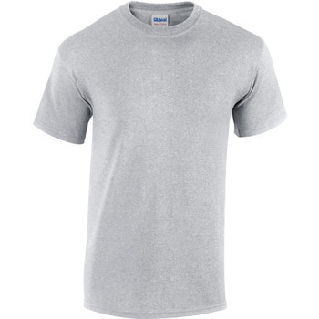 Abbigliamento Uomo T-shirt maniche corte Gildan Heavy Grigio Sport