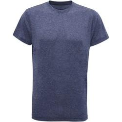 Abbigliamento Uomo T-shirt maniche corte Tridri TR010 Blu melange