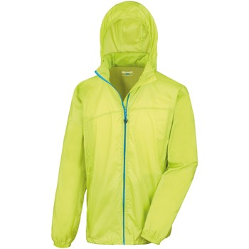 Abbigliamento giacca a vento Result Hydradri Lime/Blu