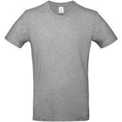 Abbigliamento Uomo T-shirt maniche corte B And C TU03T Grigio Sport