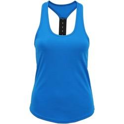 Abbigliamento Donna Top / T-shirt senza maniche Tridri TR027 Zaffiro
