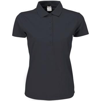 Abbigliamento Donna Polo maniche corte Tee Jays TJ145 Grigio scuro