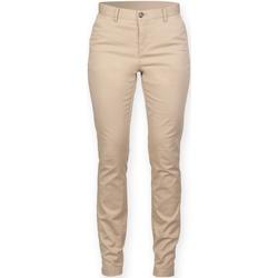 Abbigliamento Donna Chino Front Row FR622 Roccia