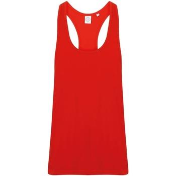 Abbigliamento Uomo Top / T-shirt senza maniche Skinni Fit SF236 Rosso acceso