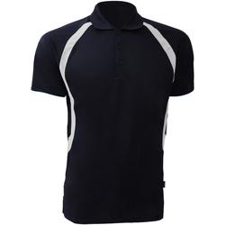 Abbigliamento Uomo Polo maniche corte Gamegear Riviera Blu navy/Bianco