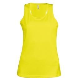 Abbigliamento Donna Top / T-shirt senza maniche Kariban Proact Proact Giallo fluorescente