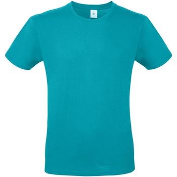 Abbigliamento Uomo T-shirt maniche corte B And C TU01T Turchese Reale