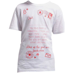 Abbigliamento Unisex bambino T-shirt maniche corte Christmas Shop CS145 Bianco