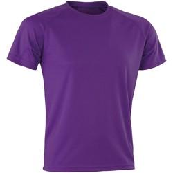 Abbigliamento T-shirt maniche corte Spiro Aircool Viola